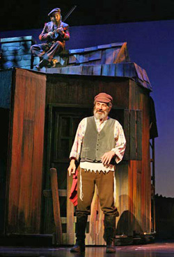 Chaim Topol As Tevye With